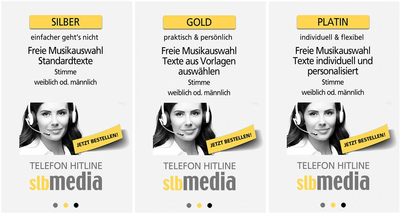 Telefon-Hitline Angebote