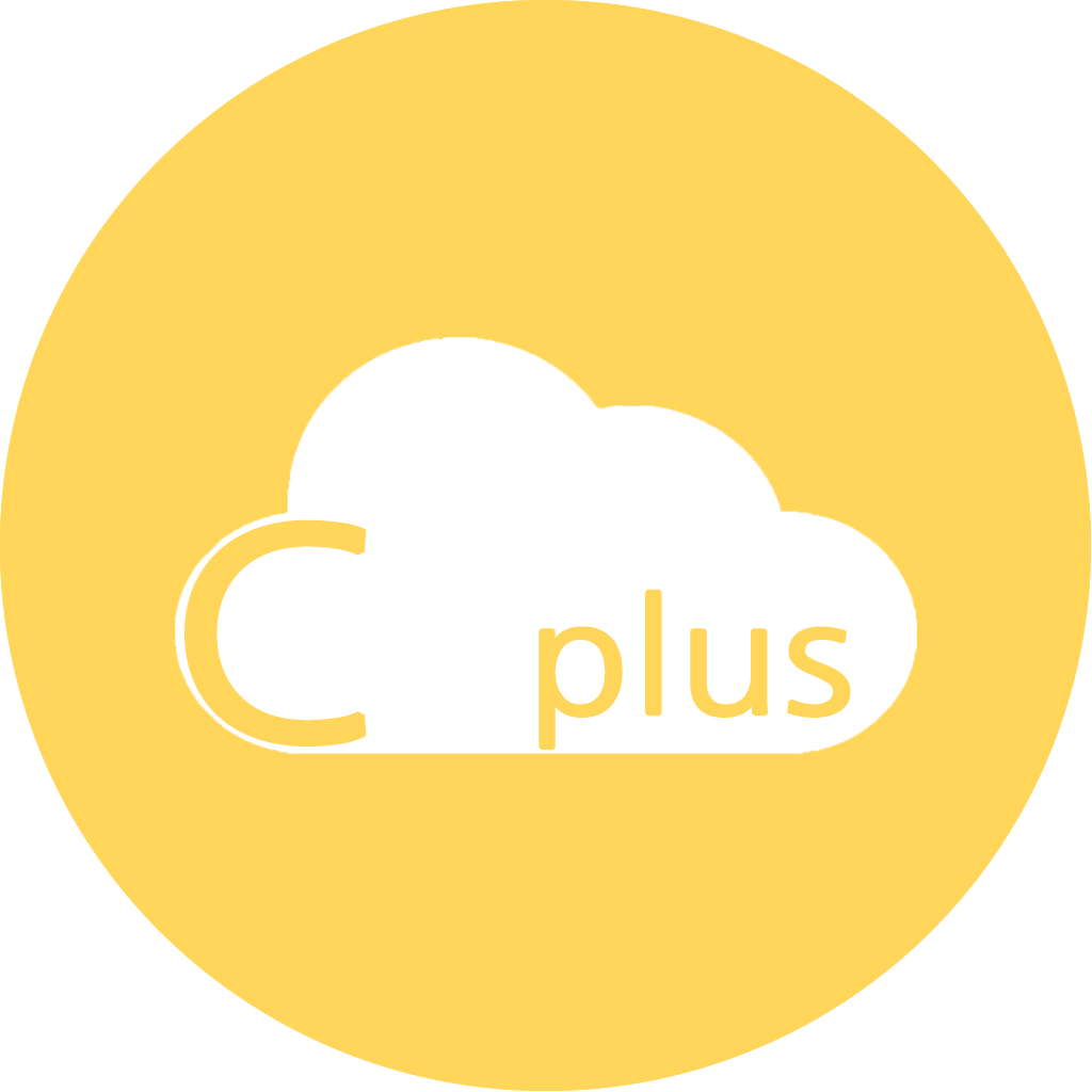 c-cloud plus Symbol für firmeninterne Cloud